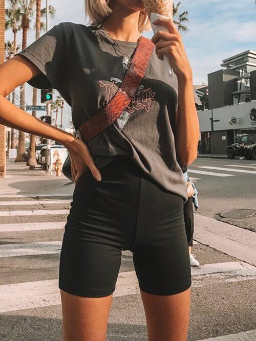 Seamless Silk Cycling Half Pants For Women