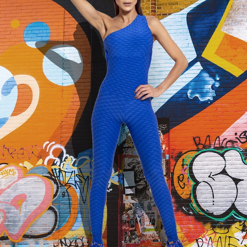Sexy Jumpsuit For Women - Blue