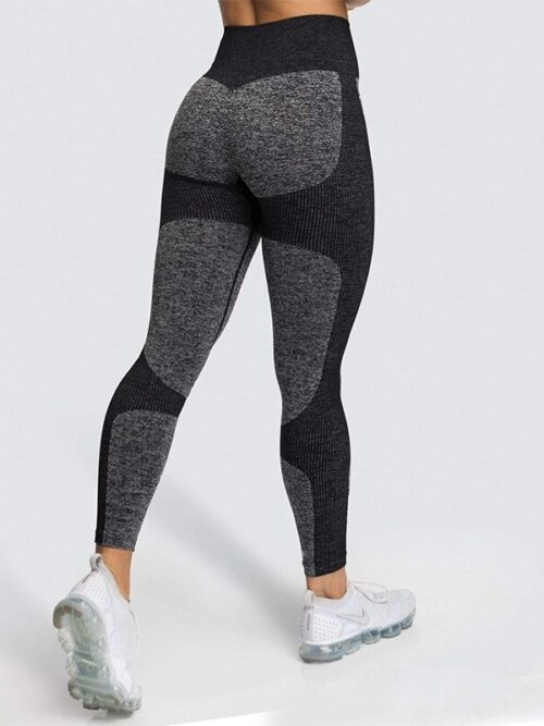 Woman Gym Push Up Seamless Leggings