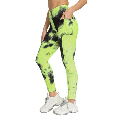 New High Waist Anti-Cellulite Leggings With Side Pockets