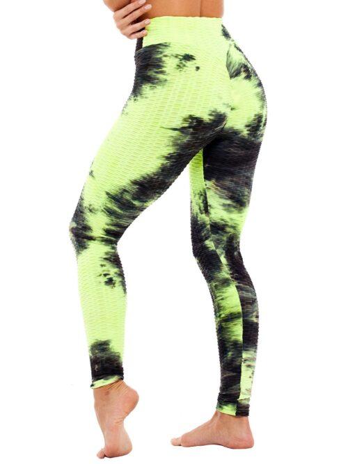 Colorful Scrunch Butt Lift Leggings For Girls