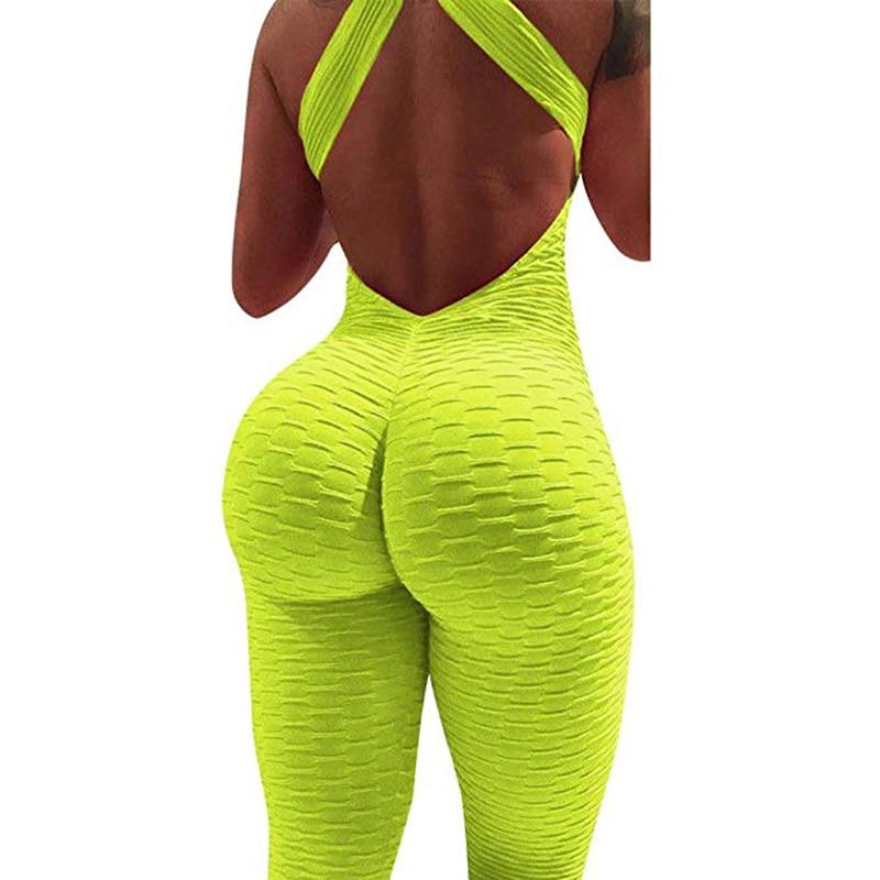 Halter Jumpsuit For Women - Multi Colors