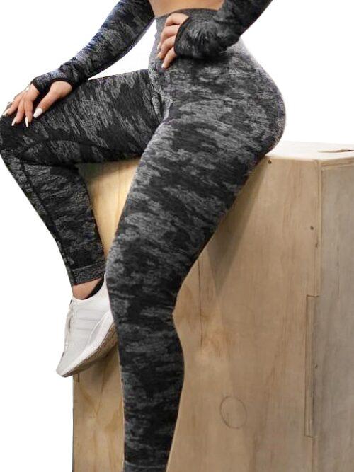 Women Camouflage Workout Leggings