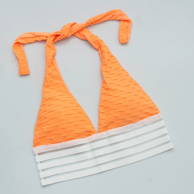 Sexy High Impact & Supportive Sports Bras - Orange