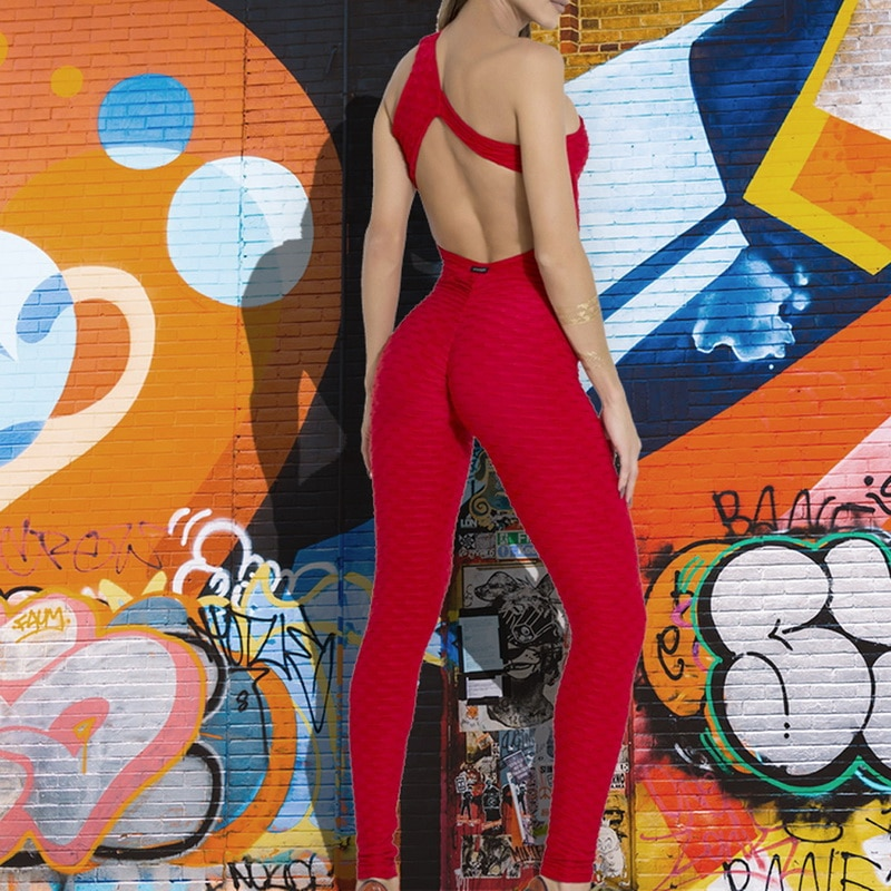 Sexy Jumpsuit For Women - Red