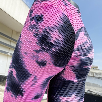 Colorful Scrunch Butt Lift Leggings For Girls