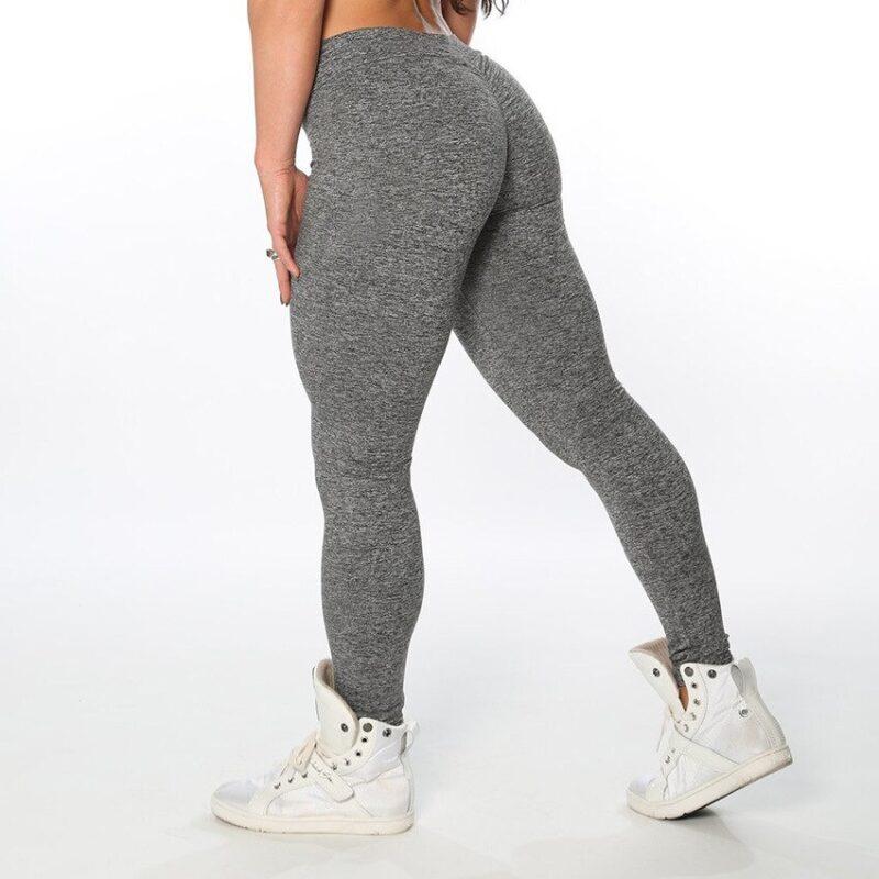 High Waist Elastic Gym Scrunch Bum Leggings